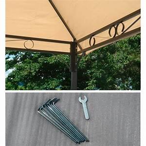 Gartenpavillon Metall 3x4 : gartenpavillon metallpavillon 3x4 meter beige ~ A.2002-acura-tl-radio.info Haus und Dekorationen