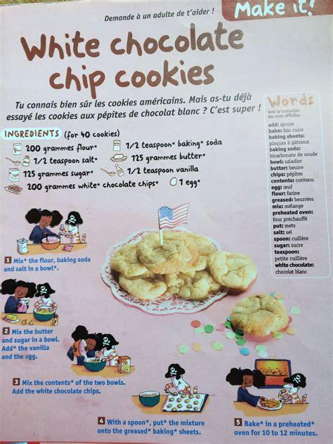 recette cuisine en anglais anglais ecole primaire publique la veuve recettes école primaire veuve et
