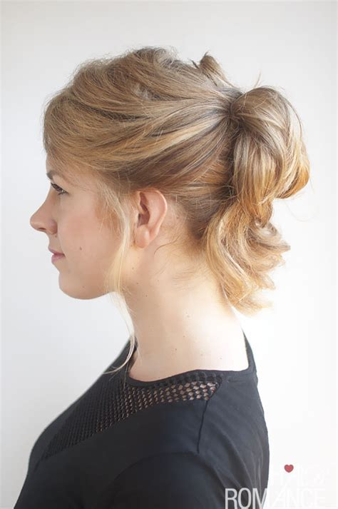 pinned  ponytail hairstyle tutorial hair romance