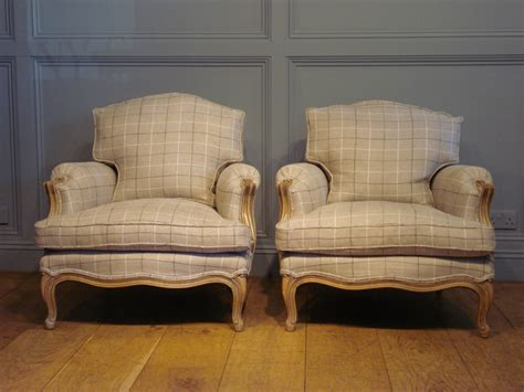 how to reupholster furniture sold pair of antique reupholstered bergeres