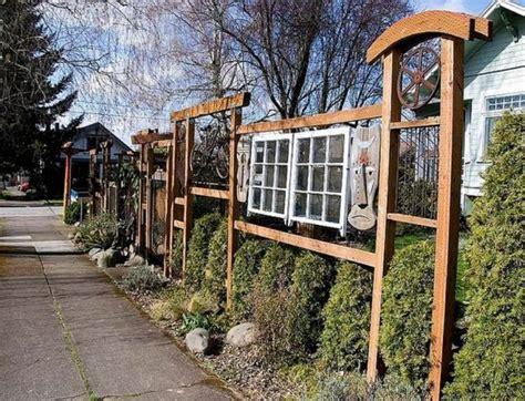 creative garden fencing ideas ultimate home ideas