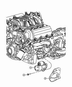 2010 Dodge Nitro Starter  Engine  After 10  22  08