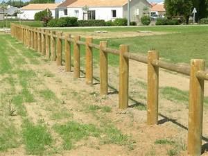 Barrière En Bois Jardin : barriere bois exterieur barriere bois exterieur sur ~ Premium-room.com Idées de Décoration