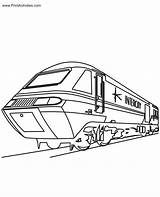 Train Coloring Pages Trains Caboose Engine Drawing Amtrak Bullet Colouring Underground Printable Template Coloringpages Printactivities Getdrawings Popular Sketch sketch template