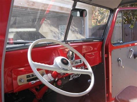willys jeep truck interior perfect enough bargain 1955 willys wagon 4 4 bring a
