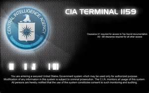 CIA Login Screen Windows 7