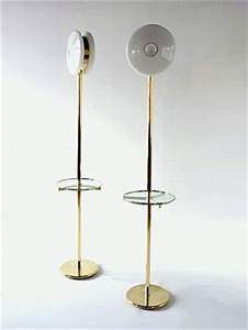 24 best images about floor lamp with shelves on pinterest With brass floor lamp with glass shelf