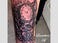Tatouage Homme Horloge Avant Bras Tattooart Hd