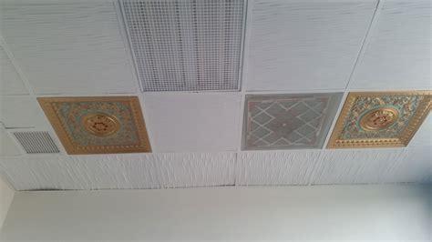 Fiberglass Ceiling Tiles 24x24 by La Scala Faux Tin Ceiling Tile 24 X24 223 Dct