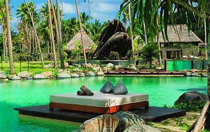 Fiji Resort Wallpapers Widescreen Desktop Vacation Wide