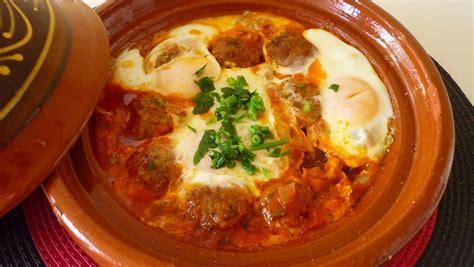 recettes de cuisine cuisine marocaine 1 recette de tajine kefta aux oeufs