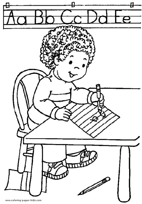 school color page coloring pages  kids educational