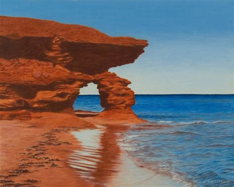 what does pei archway to thunder cove pei studio 4 visual art