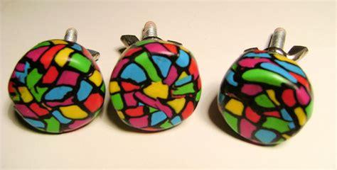 boutons de tiroirs en p 226 te fimo id 233 es couleurs cr 233 ations