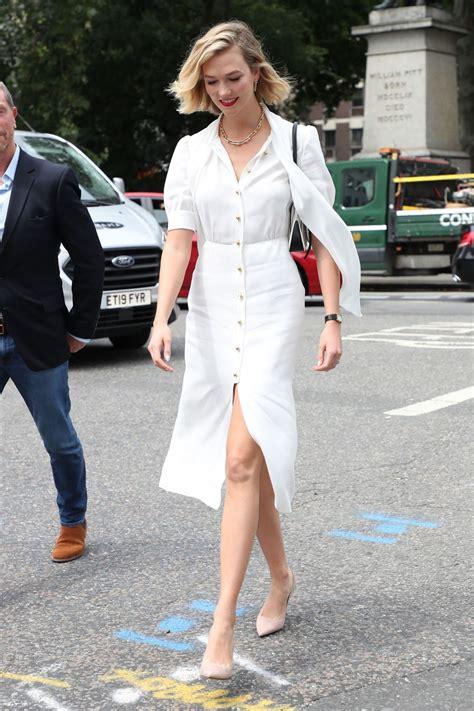 Karlie Kloss Arriving Vogue House London