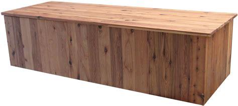 Hardwood Storage Bench Seat