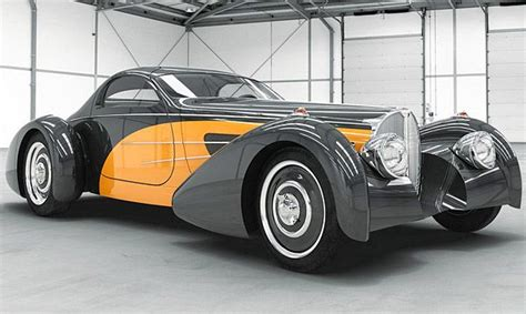 1937 Bugnotti Coupe Type 57s Classic, But Updated With A