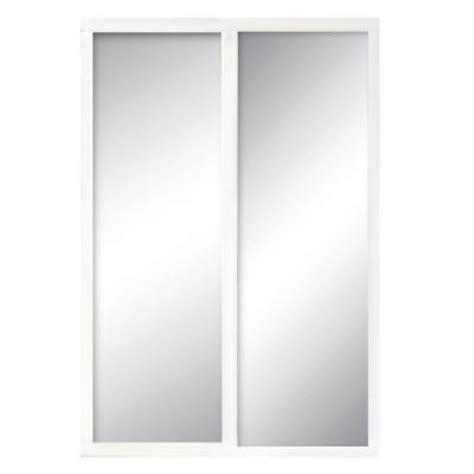 contractors wardrobe 84 in x 96 in serenity mirror white