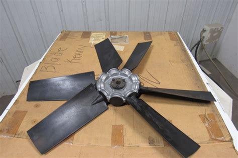 multi wing fan blades multi wing 32 quot medium volume 6 blade axial fan 40 deg w