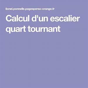 Calcul Escalier Quart Tournant : les 25 meilleures id es de la cat gorie escalier quart ~ Dailycaller-alerts.com Idées de Décoration
