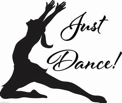Dance Modern Dancing Silhouette Salsa Ballet Sticker