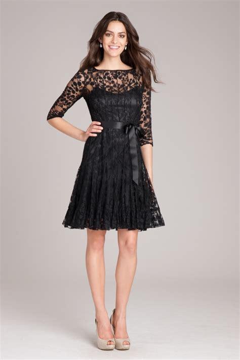 lace dress black lace cocktail dress teri jon