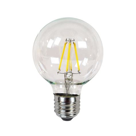 New Light Bulbs by Newhouse Lighting 40w Equivalent Incandescent G25 Dimmable