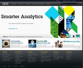 design homepage ibm corporate website design 9