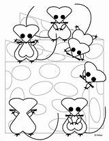 Coloring Mice Mac Pages Christmas Sherimcclurepitler sketch template