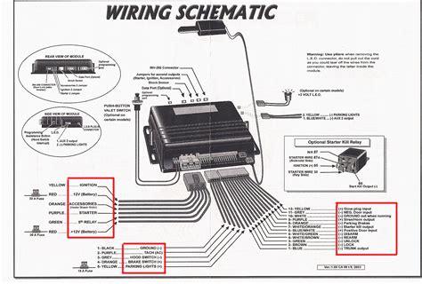car security system wiring diagram bulldog security wiring