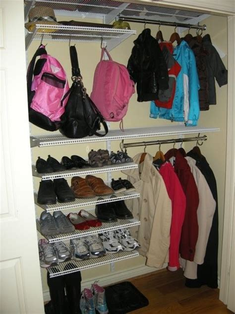 Closet Organizers Oakville by Best 25 Front Closet Ideas On Entry