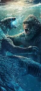 Godzilla, Vs, Kong, 2021, Mobile, Wallpaper