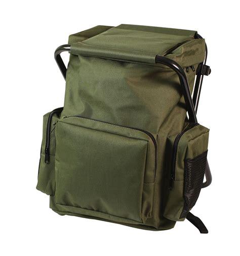 Stool Backpack - rothco backpack and stool combo pack