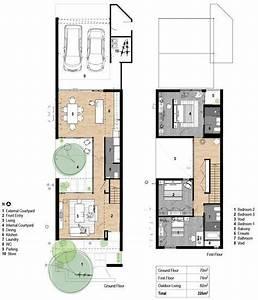 Schmale Häuser Grundrisse : typical terrace home modernismo pinterest grundrisse architektur und schmale h user ~ Indierocktalk.com Haus und Dekorationen