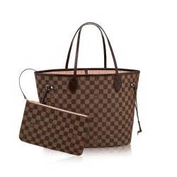 designer handtaschen louis vuitton neverfull mm damier ebene canvas handbags louis vuitton