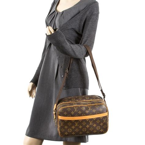 louis vuitton monogram reporter pm authentic pre owned  luxedh