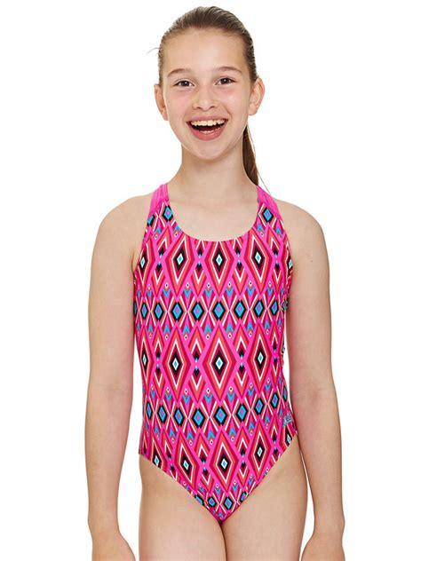 zoggs crazy retro girls  piece swimsuit