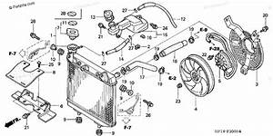 Honda Atv 2004 Oem Parts Diagram For Radiator   U0026 39 04  U0026 39 05