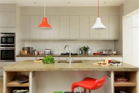 beton ciré pour cuisine plan travail beton cire ilot accueil design et mobilier