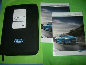 Ford Focus Owners Manual    Handbook Quick Guide Sync G