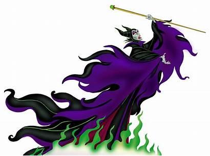 Maleficent Disney Clipart Clip Silhouette Tree Crown