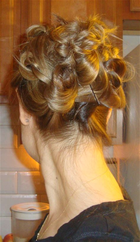 knotted updo hair style tutorial penelopes oasis