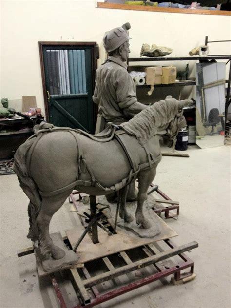 peter walker sculptor miner  pony memorial