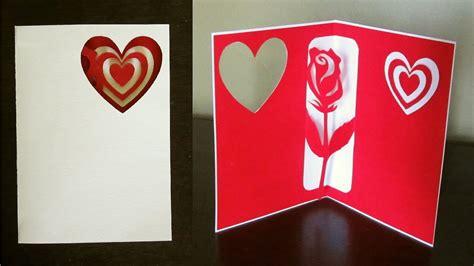 rose pop  card valentines day birthday  greeting