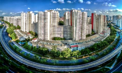 Housing And Development Board Flats In Bukit Panjang