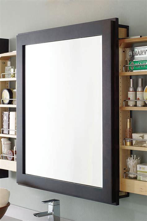 Vanity Mirror With Shelf by 25 Bathroom Space Saver Ideas