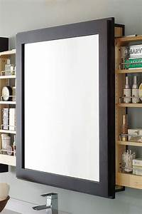 bath mirror with wall pull out decora cabinetry With pull out mirror bathroom