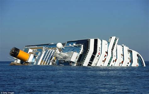the concordia chilling photos of the doomed ship