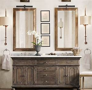 17 best images about restoration hardware look book on With bathroom vanities like restoration hardware