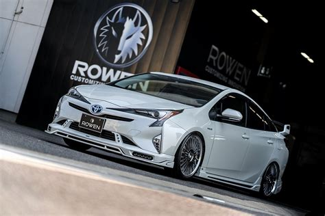prius lexus body kit toyota prius gathering in japan is all about quad exhausts